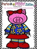 Parts of a Friendly Letter Piggy Style