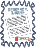 Parts of a Friendly Letter Signs and Templates