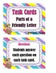 Parts of a Friendly Letter - Task Cards Set 2
