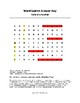 Parts of a Goldfish Word Search Color/B&W (Grades K-2)