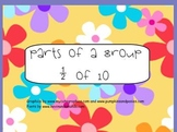 Parts of a Group: Fractions