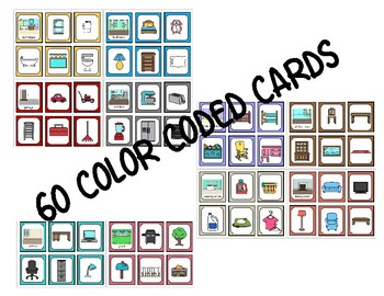 Parts of a Home Matching Cards