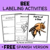 Parts of a Honey Bee Activities