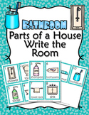 Parts of a House Bathroom Write the Room