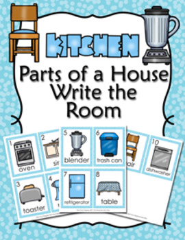 Parts of a House Kitchen Write the Room