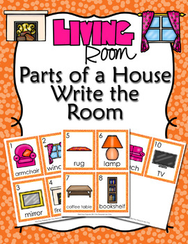 Parts of a House Living Room Write the Room