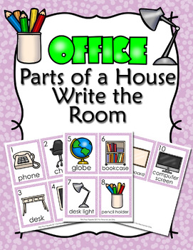Parts of a House Office Write the Room