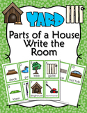 Parts of a House Yard Write the Room