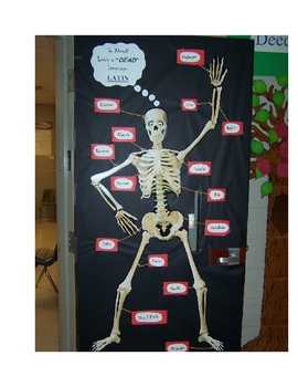 Parts of a Human Skeleton (Halloween - Learn a DEAD Language - LATIN!)