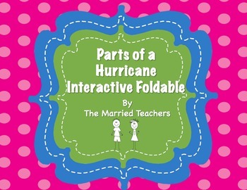 Parts of a Hurricane Interactive Foldable