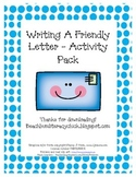 Parts of a Letter - Activity Pack