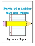 Parts of a Letter Cut and Paste