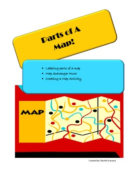 Parts of a Map - Common Core Aligned