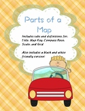 Parts of a Map Foldable