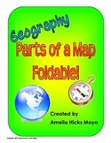 Parts of a Map Foldable for Elementary Grades!
