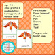 Parts of a Monocot Flower Montessori 3 - Part Cards