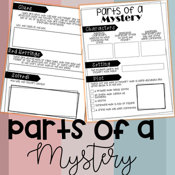 Parts of a Mystery Checklist