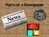 Parts of a Newspaper PPT