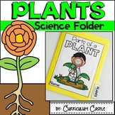 Parts of a Plant Science Activities Folder