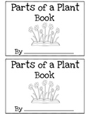 Parts of a Plant Book Differentiated (Read, Trace, Fill in the Blank)