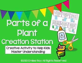 Parts of a Plant Creation Station