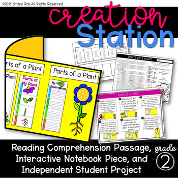Parts of a Plant {Creation Station}