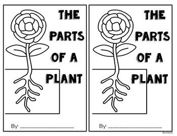 Parts of a Plant Cut & Paste Student Reader
