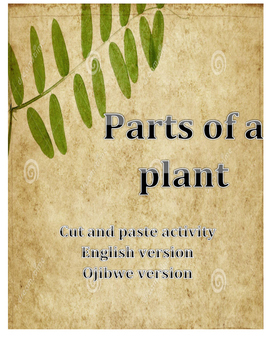 Parts of a Plant English and Ojibwe Version