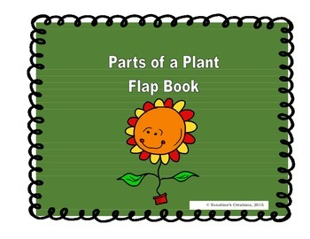 Parts of a Plant Flap Book