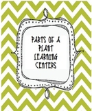 Parts of a Plant Learning Centers