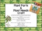 Parts of a Plant / Plant Needs Flip Book