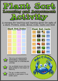 Parts of a Plant - Plant Sort Poster Activity and Card Game
