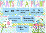 """""""Parts of a Plant"""" Poem of the Week Flipchart for ActivInspire"""