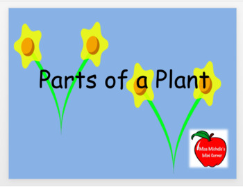 Parts of a Plant Powerpoint and Game