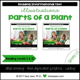 Parts of a Plant • Reading Comprehension Passages and Questions • RL I & II