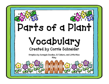 Parts of a Plant Vocabulary