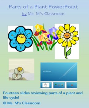 Parts of a Plant- power point for individual student or group use