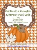 Parts of a Pumpkin Literacy ELA Mini Unit