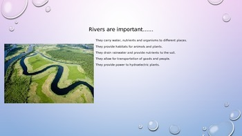 Parts of a River Powerpoint