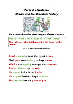 Parts of a Sentence Charlie