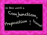 Parts of a Sentence- Pronouns, Prepositions and Conjuctions