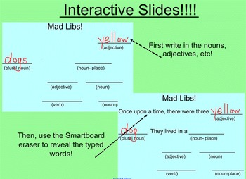 Sentences! (Smartboard Lessons and Activities)