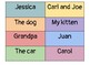 Parts of a Sentence: Subject and Predicate Center