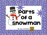 Parts of a Snowman {graphic organizers}