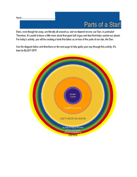 Parts of a Star Activity