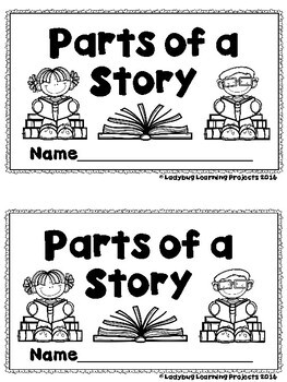 Parts of a Story  (A Sight Word Emergent Reader and Teacher Lap Book)