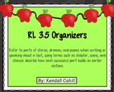 Parts of a Story Drama Poem Organizer RL.3.5