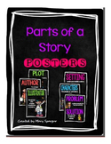 Parts of a Story Posters