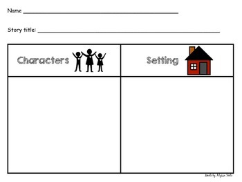 Parts of a Story handout