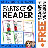 Vocabulary Activities - Parts of a Reader